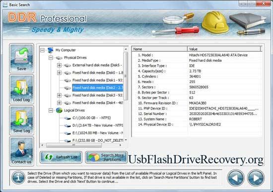 Windows 7 USB Flash Drive Recovery 4.0.1.6 full
