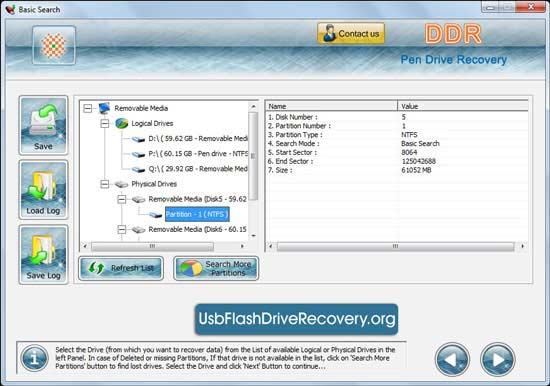 Windows 7 Flash USB Drive Recovery 5.3.1.2 full
